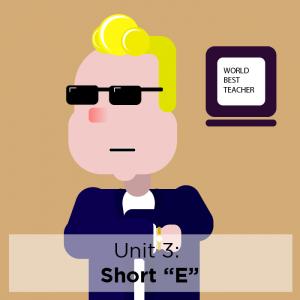 """[Study Phonics] Unit 3: Short """"E"""""""