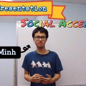 Học sinh Real English nói về Social Acceptance- sự chấp nhận của Xã hội