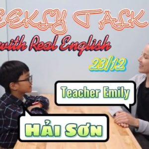[WEEKLY TALK] HẢI SƠN & MISS EMILY
