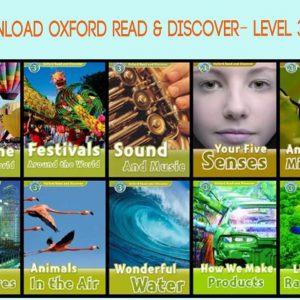 TRỌN BỘ EBOOK & AUDIO BỘ OXFORD READ & DISCOVER-LEVEL 3