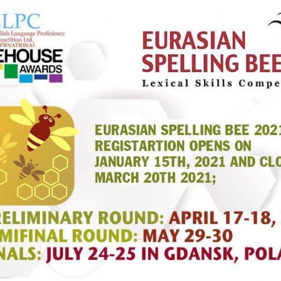 Eurasian Spelling Bee English Language Competition – ESB 2020