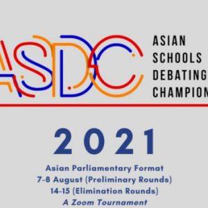 GIẢI VÔ ĐỊCH TRANH BIỆN CÁC TRƯỜNG HỌC CHÂU Á – ASDC (Asian Schools Debating Championship)