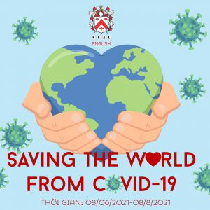 [SUMMER CONTEST] SAVING THE WORLD FROM COVID-19