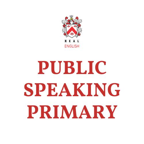 Public Speaking Primary